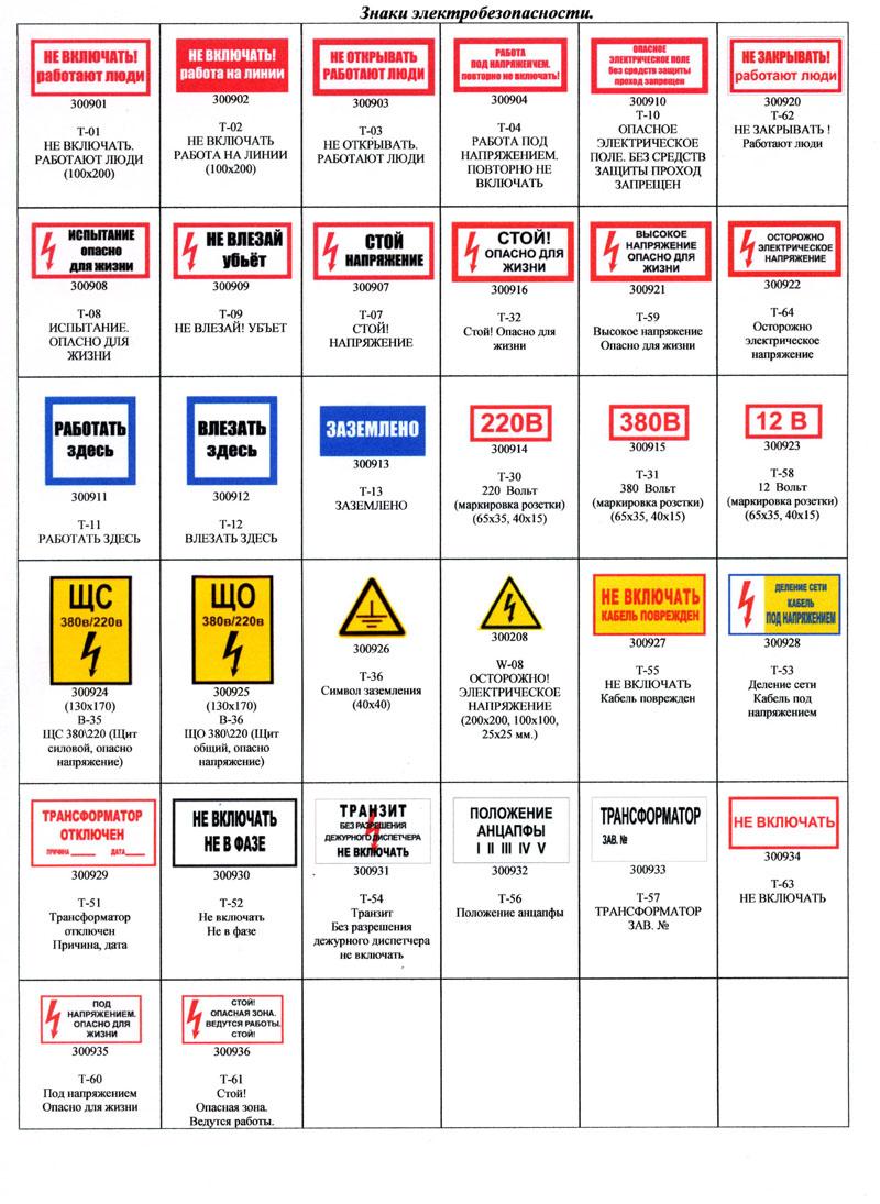 Знаки электробезопасности размеры билеты электробезопасность 2 группа онлайн